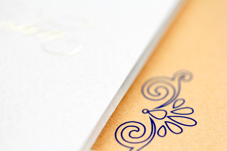 seashell inspired sophisticated invitation | AZURE