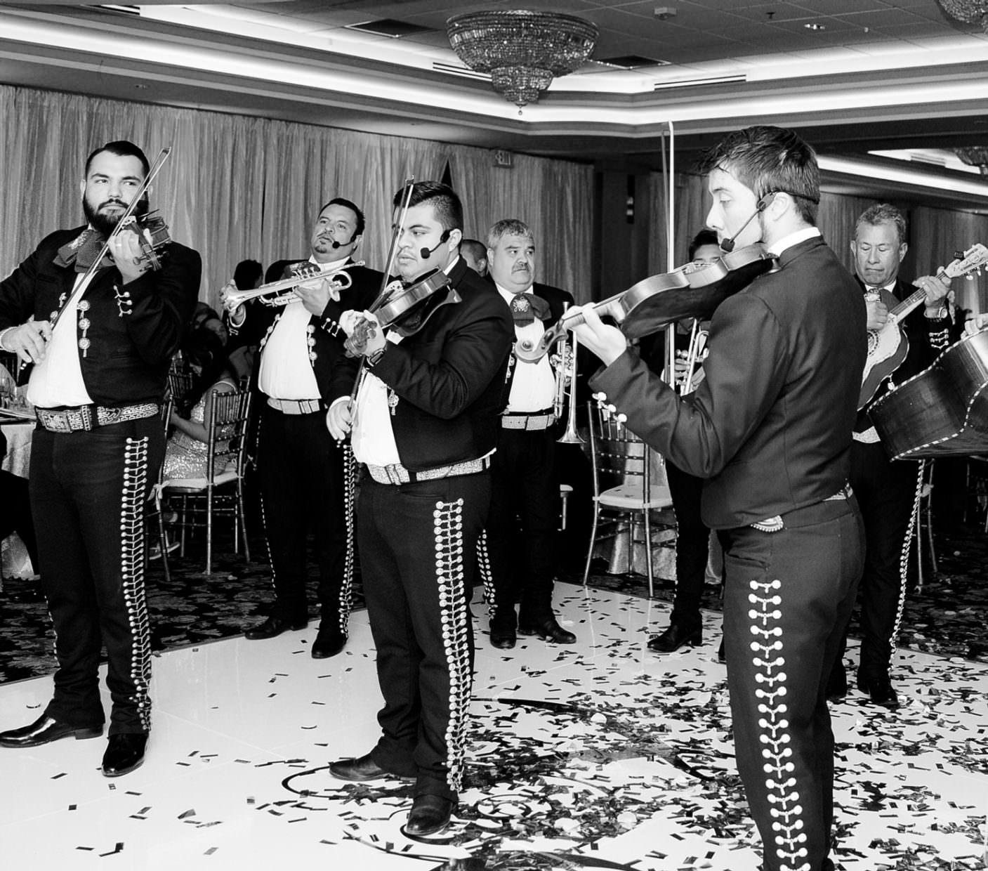 Mariachi band for California Multicultural wedding